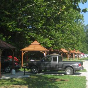 Photograph of Marengo Cave campground